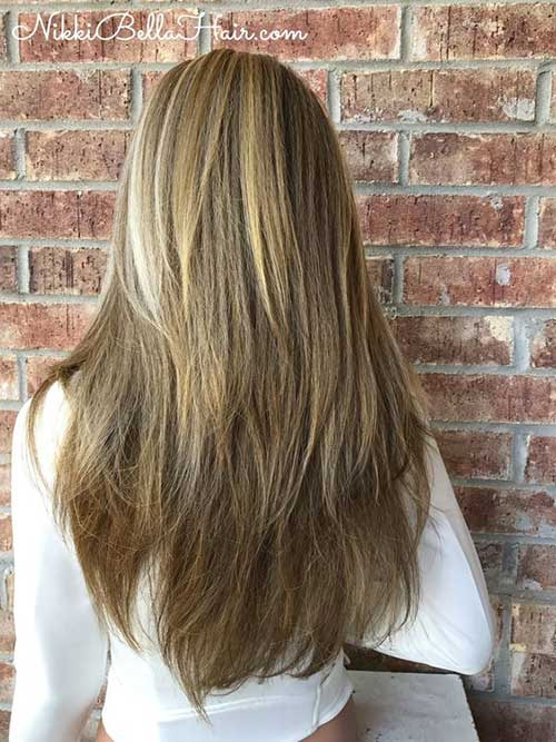 Short Straight Layered Haircuts