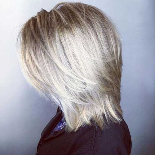 Straight Layered Haircuts