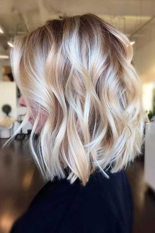 Blonde Long Bob Hairstyles 2019-10