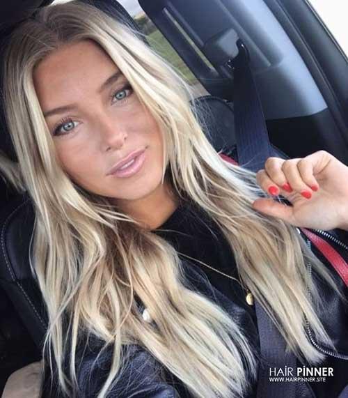 Blonde Hairstyles 2019-18