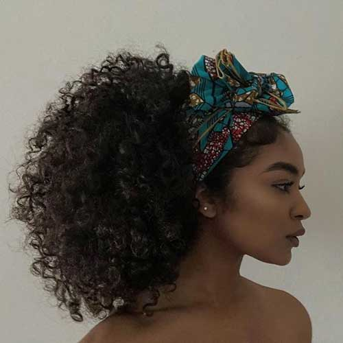 Curly Hairstyles with Headband for Women-6