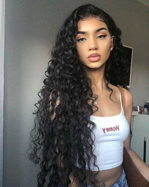 Very Long Curly Hairstyles for Women-8