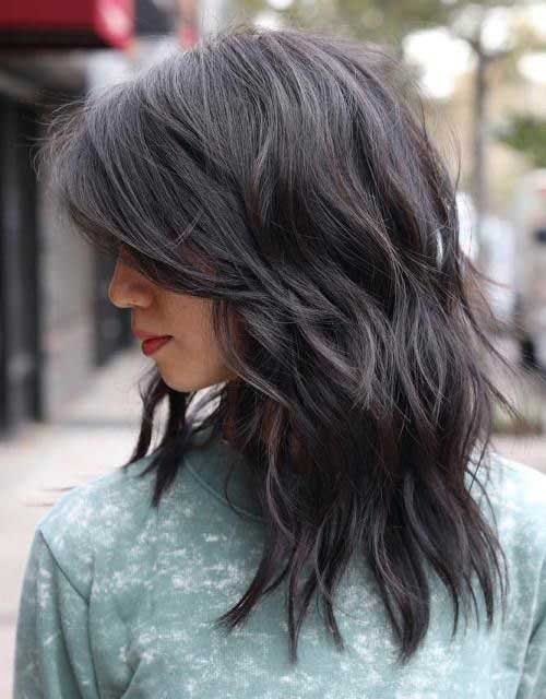 Ladies Layered Haircuts