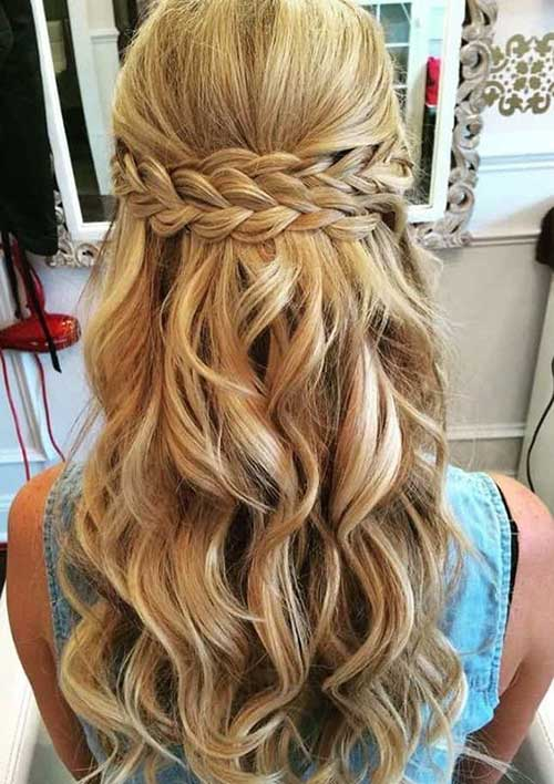 Cute Updo Hairstyles-13