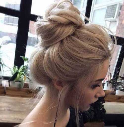 Cute Updo Hairstyles-16