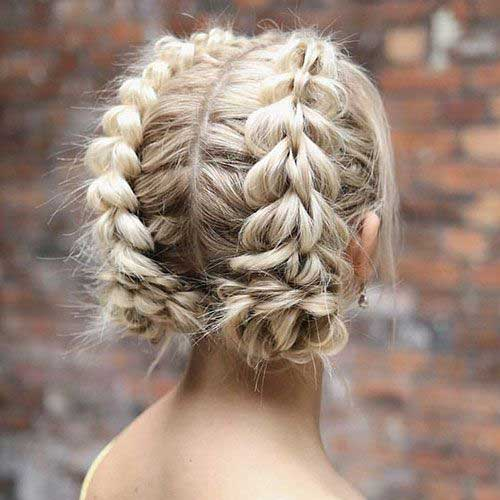 Cute Updo Hairstyles-17