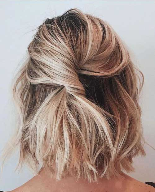 Cute Updo Hairstyles-18