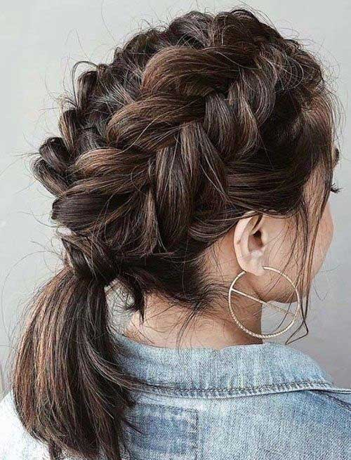 Cute Updo Hairstyles-19