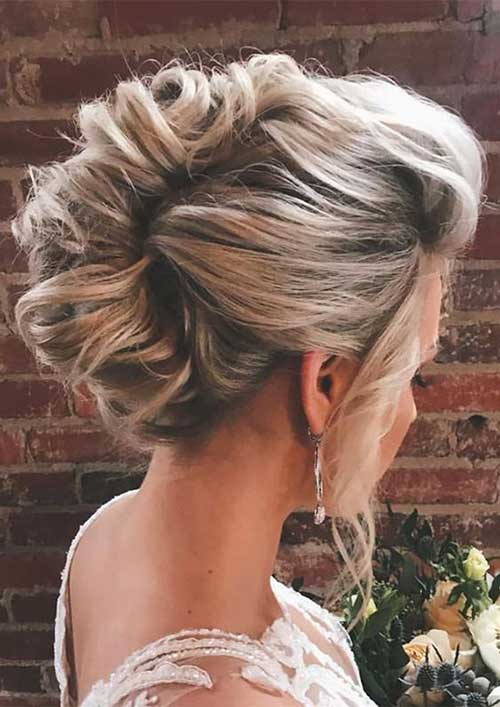 Cute Updo Hairstyles-20