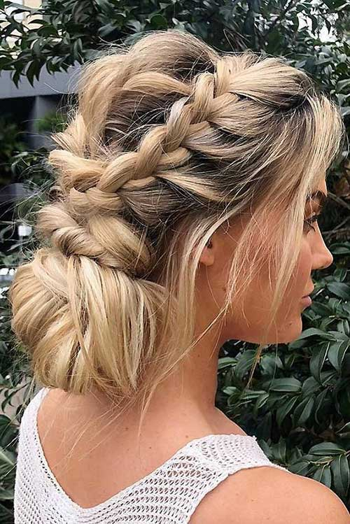 Cute Updo Hairstyles-6