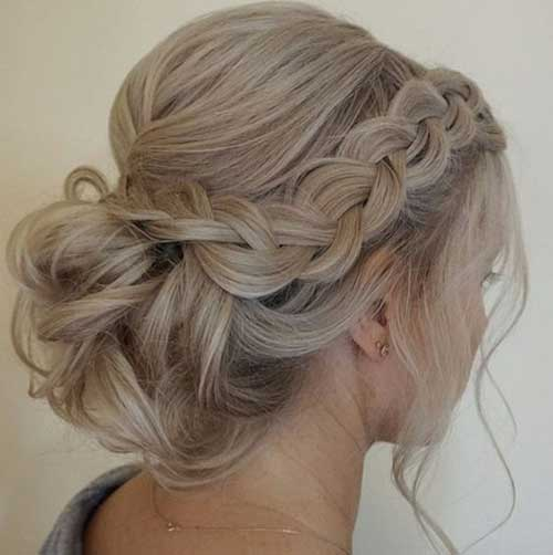Cute Updo Hairstyles-8