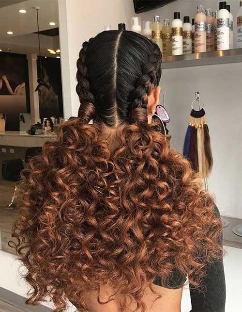 Hairstyles for Curly Hair-6