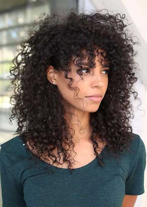 Hairstyles for Curly Hair-8