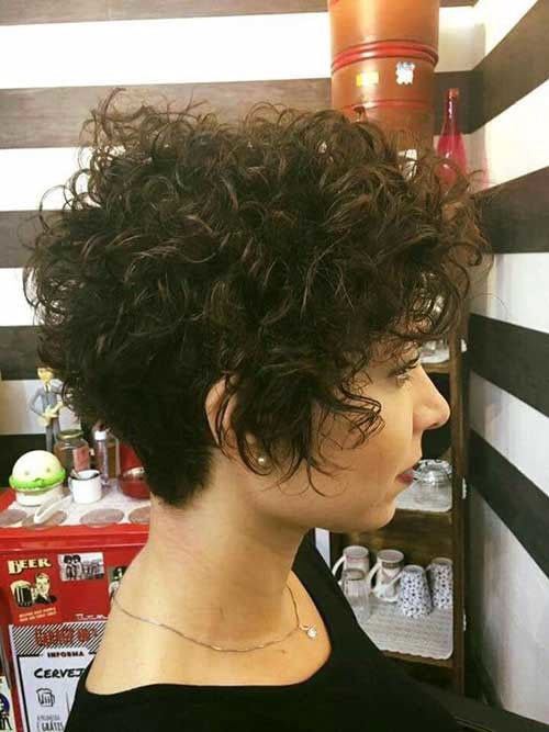 Short Curly Wavy Hair