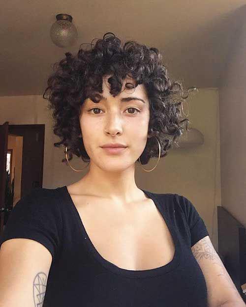Pics Of Short Haircuts For Naturally Curly Hair