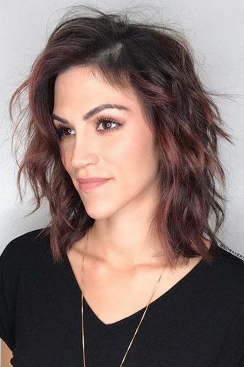 Short Haircuts For Long Faces Pictures