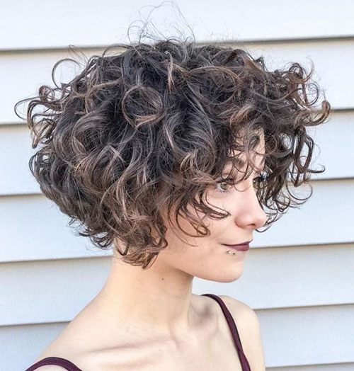 Short Curly Wavy Hairstyles