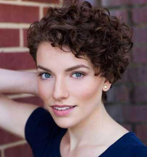 Pics Of Short Haircuts For Naturally Curly Hair