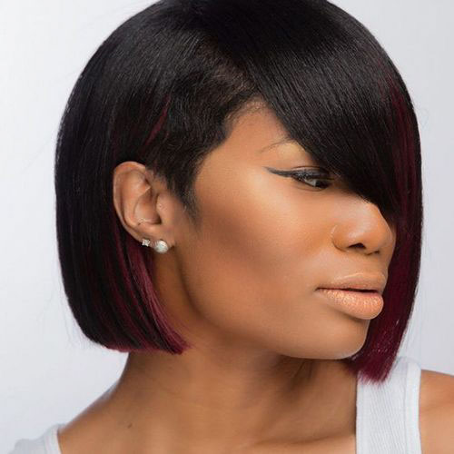 Hairstyles For Black People With Short Hair