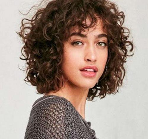 Short Naturally Curly Haircuts