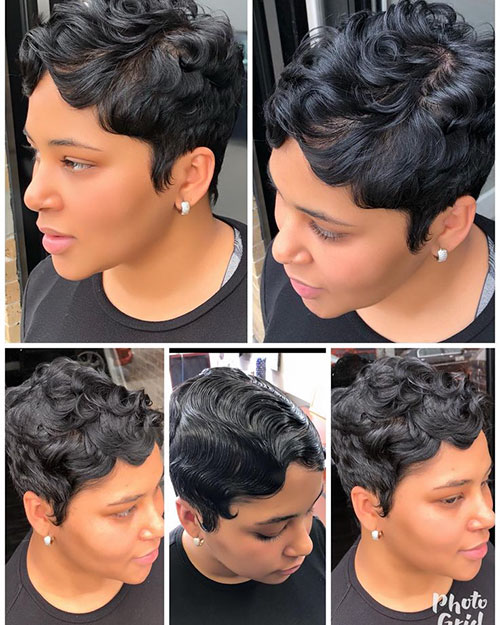 Black People Short Haircuts