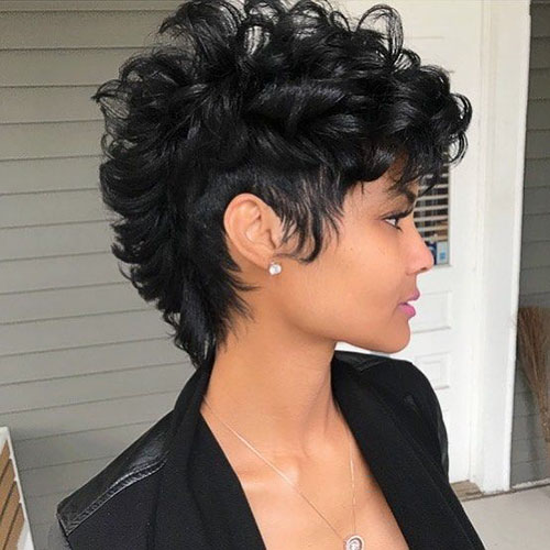 Black Mohawk Hairstyles