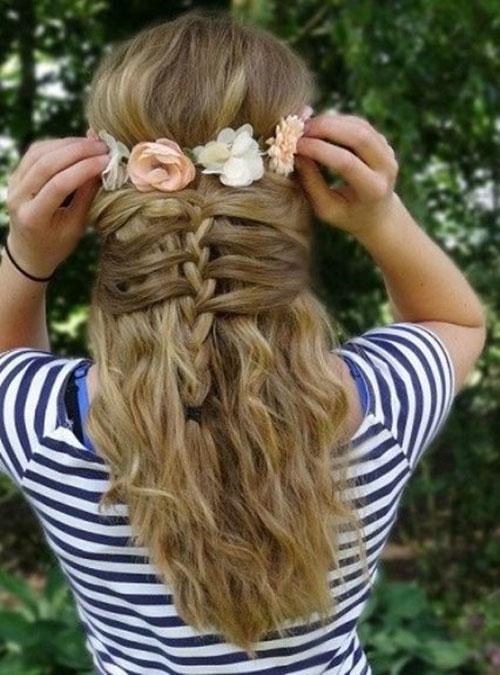 Cute Hairstyles For Teenage Girl
