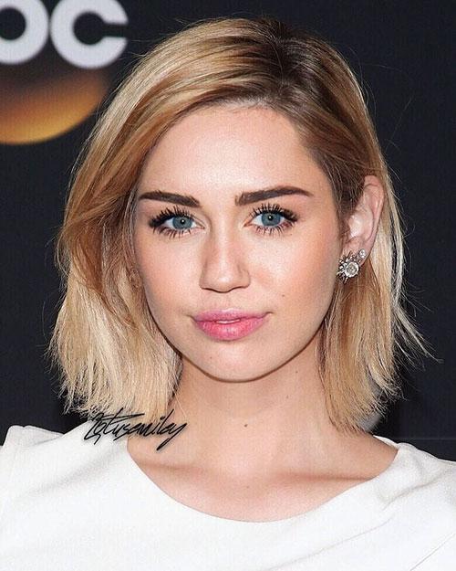 20 Sleek Miley Cyrus Hairstyles To