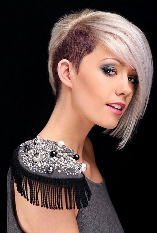 Side Shaved Hair Designs