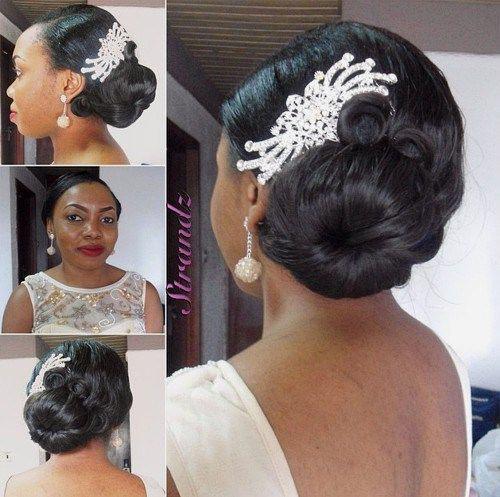 Black Bun Hairstyles