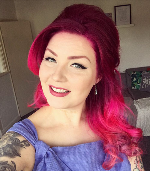 Pink Hairstyle