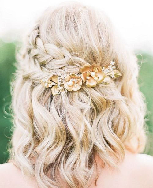 Braided Wedding Haircuts