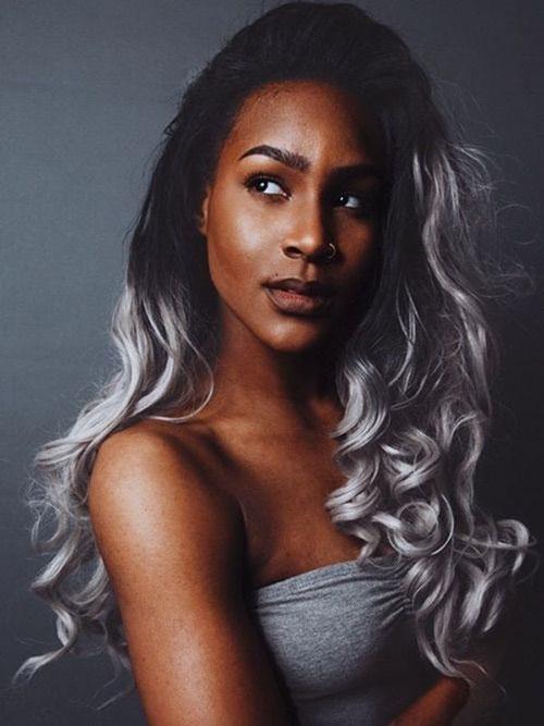 Good Hair Colors For Dark Skin Tones