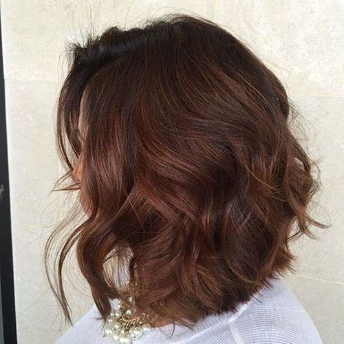 Long Chestnut Brown Hair
