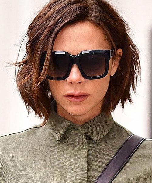 Victoria Beckham Hairstyles Short