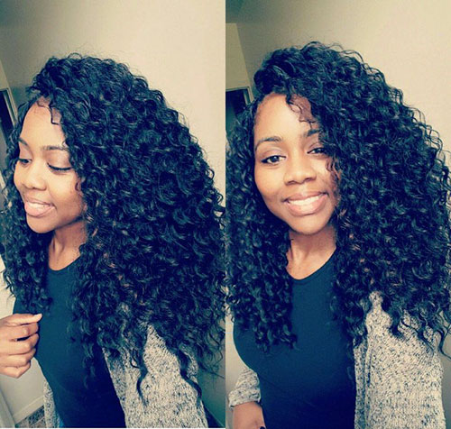 Crochet Hairstyles With Wavy Hair