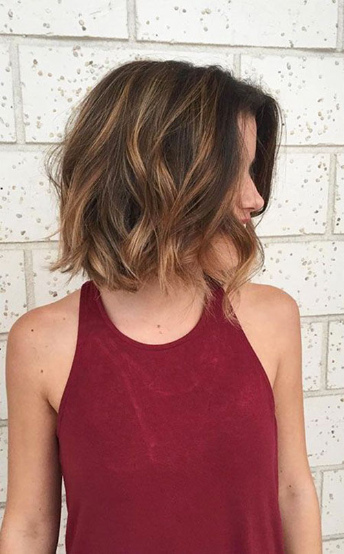 Haircuts For Shoulder Length Hair