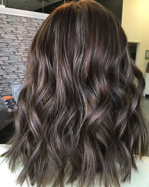 Cool Brown Hair