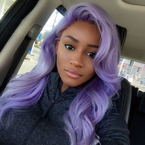 Cool Hair Color For Dark Skin