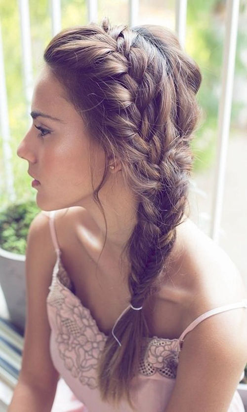 Cute Hairstyles For Braided Hair