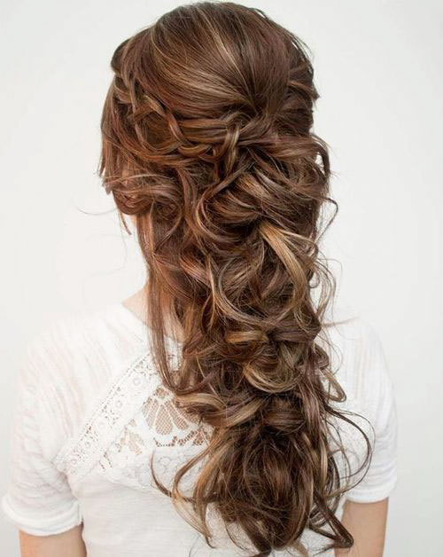 Braided Wedding Hair