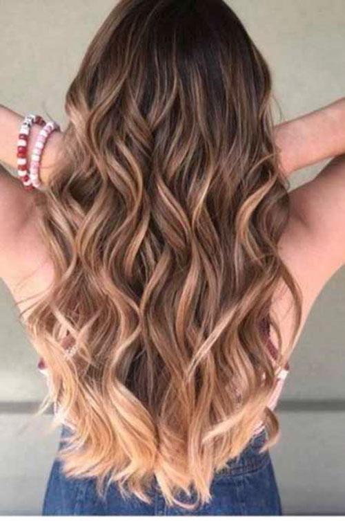 Summer Hair Colors For Long Hair