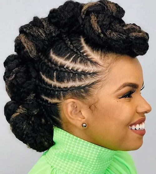 Mohawk Hairstyles For Black Hair