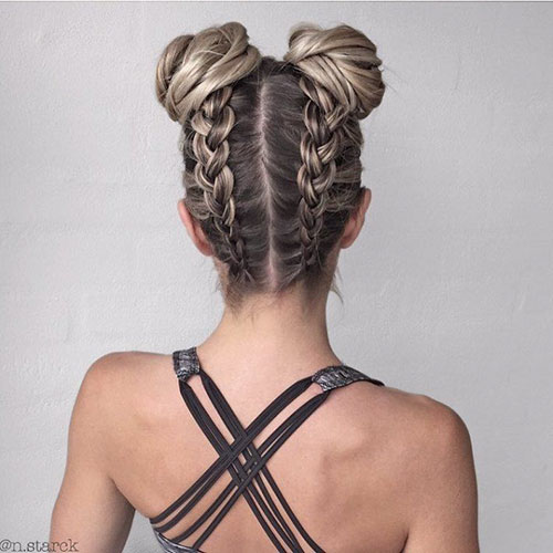 Cute Braided Hairstyles With Beads