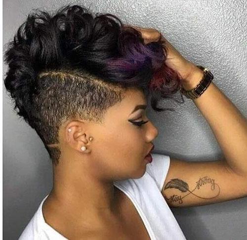Black Girl Mohawk Haircuts