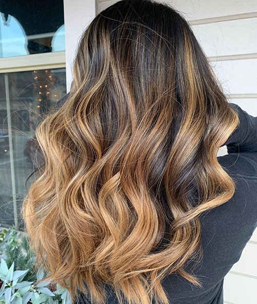 Highlights For Long Hair