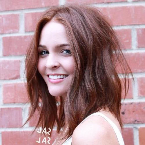 Chestnut Brown Long Hairstyles