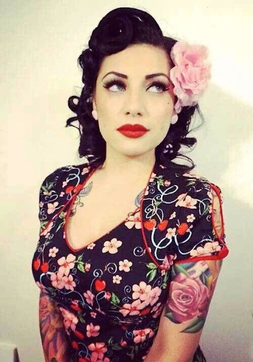Women Rockabilly Haircuts