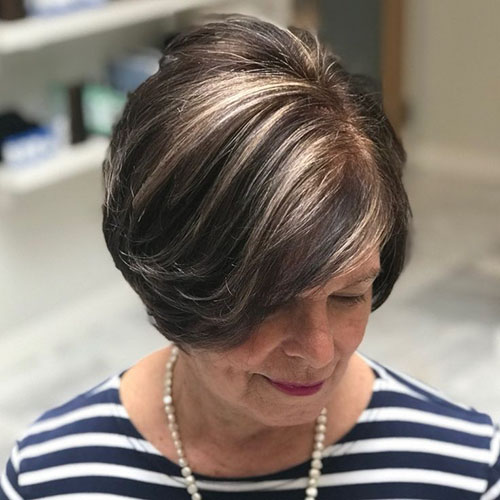 Haircuts For Women Over 70
