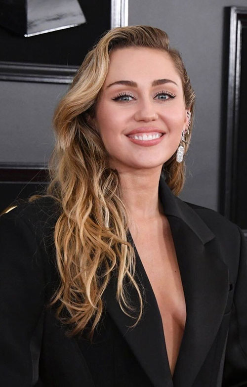 Miley Cyrus Hair Now